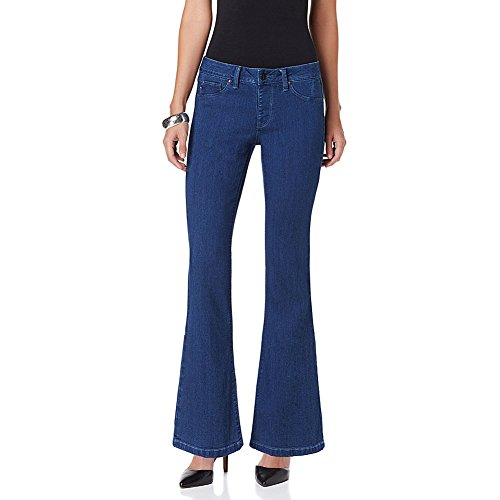 Hot in Hollywood MEGASTRETCH Girlfriend Jean-Medium Color, 1X - Hollywood Shops In