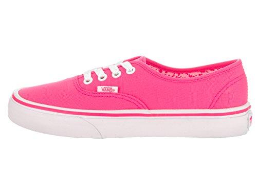 Pink Authentic Womens Canvas Vans Trainers Splatter Neon BYxqSF