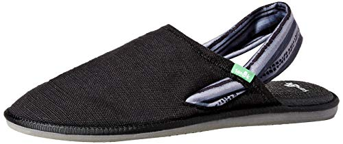 Sanuk Women's Yoga Sling Cruz Prints Sandal Keys Ranch Charcoal/Grey 07 M US