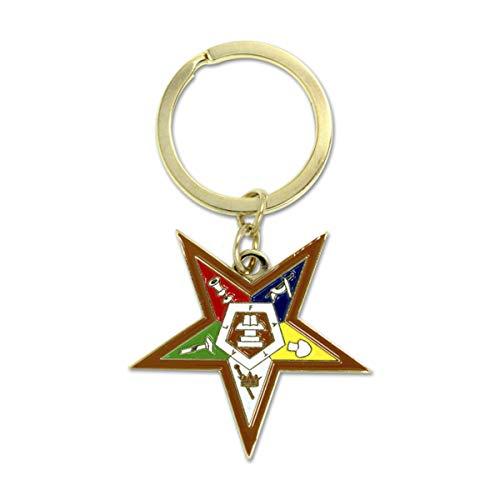 Eastern Star Masonic Key Chain (OES)
