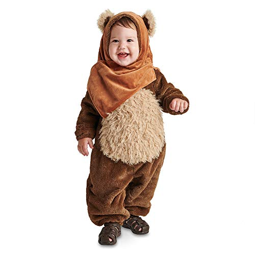 Star Wars Ewok Costume for Baby Size 12-18 MO Multi