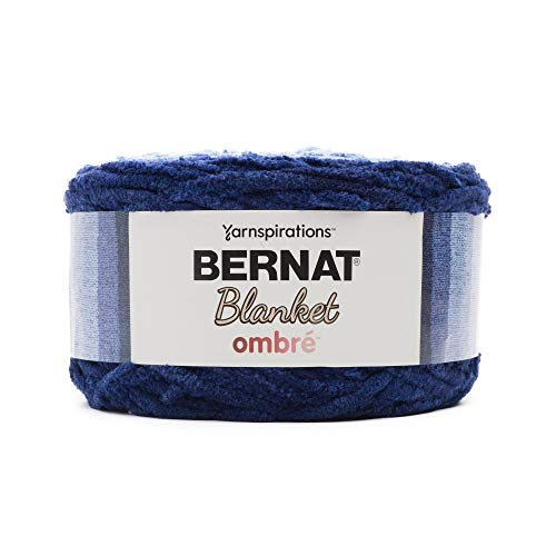 Thing need consider when find bernat blanket yarn navy ombre?