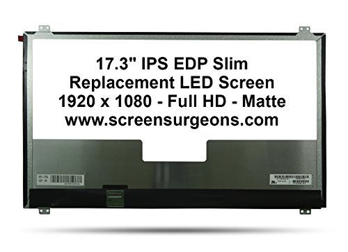 ASUS G752V Replacement LED Screen by Screen Surgeons