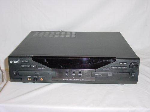 TDK DA-3826 DUAL DECK 4X AUDIO CD RECORDER PLAYER DUPLICATOR