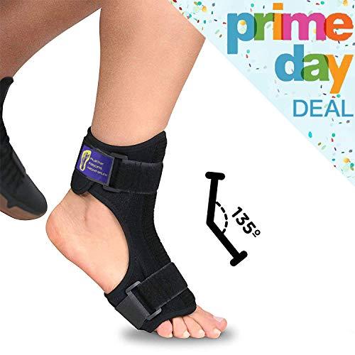 (Everyday Medical Plantar Fasciitis Night Splint Brace for Plantar Fasciitis Pain Relief I Dorsal Foot Stretching Support best for Achilles Tendonitis, Heel Pain, Plantar Fascia, Drop Foot -Men & Women)