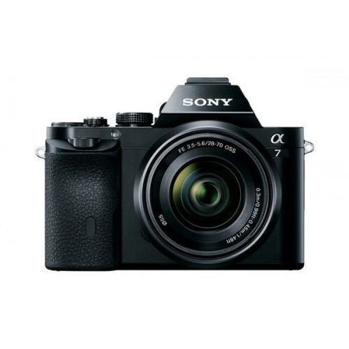 (Sony Alpha 7 a7 Full Frame Mirrorless Camera 28-70mm full frame lens - ILCE-7K/B (Certified Refurbished))