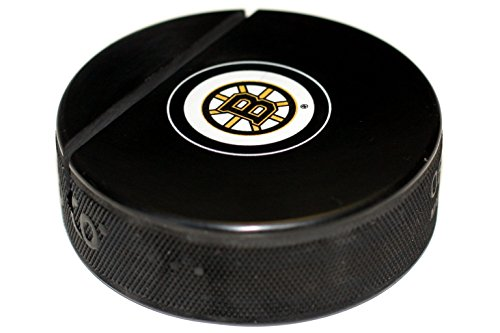 EBINGERS PLACE Boston Bruins Hockey Puck Business Card Holder