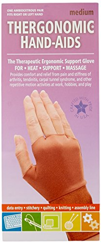 Frank A. Edmunds Hand-Aids Support Gloves, Medium, HA-3 (HA-1003)
