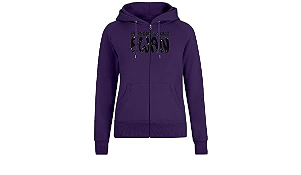 Todo el Mundo Sabe Ewan - Everyone Knows Ewan Zipper Hoodie Jumper Pullover For Women 100% Soft Cotton Womens Clothing X-Large: Amazon.es: Ropa y accesorios