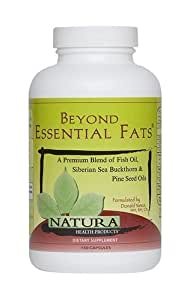 Natura Health Products Beyond Essential Fats - 150 Capsules