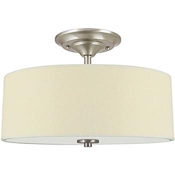 progress lighting p3712 20 inspire collection two light semi flush