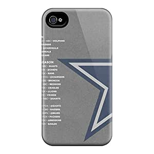 Shockproof Hard Phone Cases For Iphone 4/4s (jAV14691ErMG) Customized High Resolution Dallas Cowboys Skin