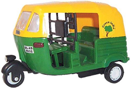 Centy Cng Auto Rikshaw Pull Back Toy Scaled Models
