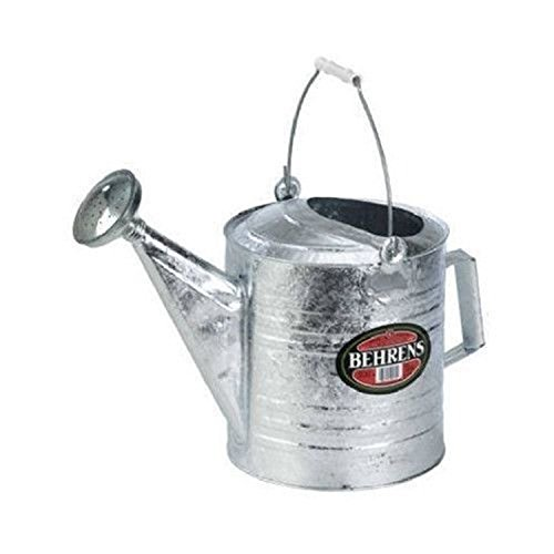- Pokin for Behrens 210 10 Quart Large Hot Dip Galvanized Watering Sprinkling Can
