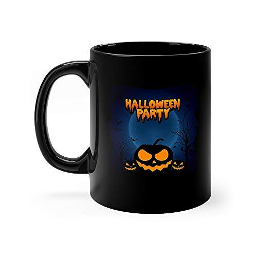 Halloween Party With Pumpkin Water Mug 11Oz - Mug Design Planetary