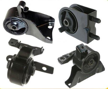 M103 99-03 Mazda Engine Motor Mount Set 4PCS Protege 99 00 01 02 ()