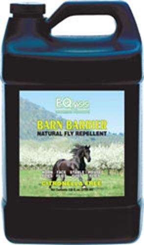 Eqyss Barn Barrier Natural Fly Repellent Spray, 128 oz by Eqyss