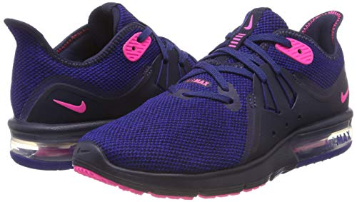 Mujer Zapatillas Azul 3 pink Nike Blast obsidian Max Para De Royal Running deep 403 Sequent Air Bq184