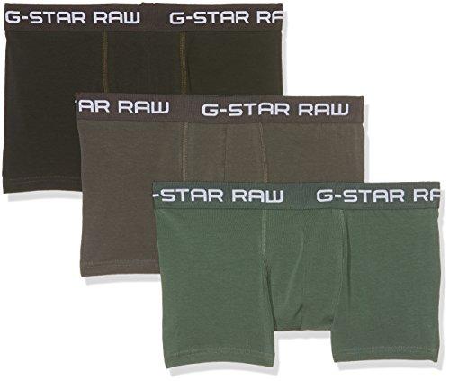 G-Star Raw Men's Classic Trunk Clr 3 Pack, gs grey/asfalt/bright jun, Large ()