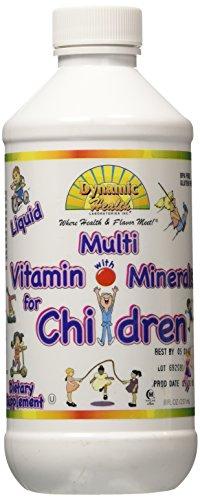 Santé dynamique liquide multivitamines pour enfants 8 fl oz