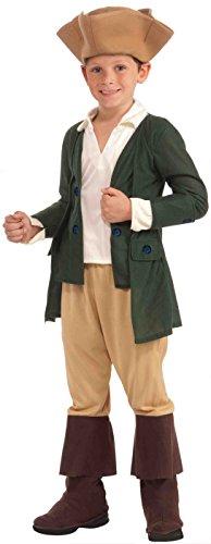 Forum Novelties Paul Revere Costume, Child Medium