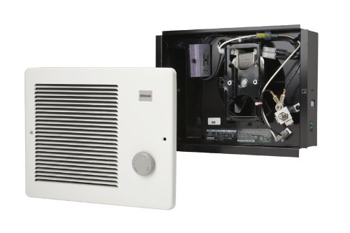 Broan 170 Wall Heater, 500/1000 Watt 120 VAC, White Painted Grille by Broan (Image #1)