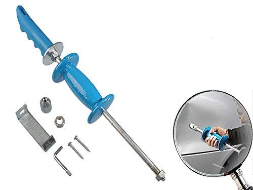 5-teiliger Satz Doppelfunktions - Ausbeulhammer Gleithammer mit Stahlstiel MS Warenvertrieb