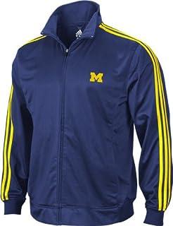 ba75336bc Amazon.com: adidas Men's Michigan Wolverines Legacy Track Jacket ...