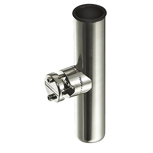 Amarine-made Stainless Clamp on Fishing Rod Holder for Rails (Steel Fishing Rod compare prices)