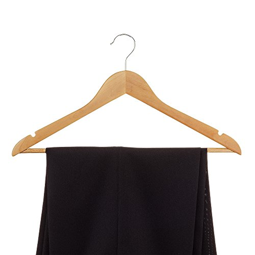 Zober Solid Wood Suit Hangers with