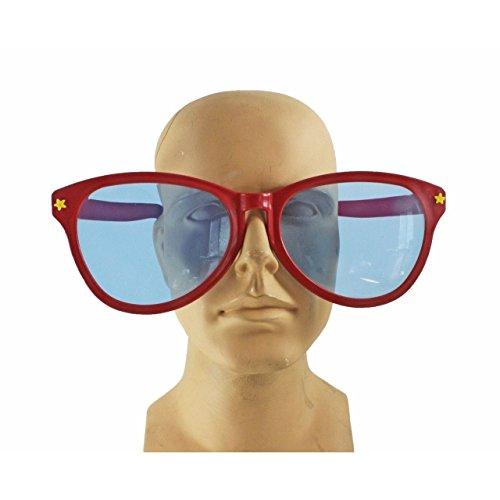 Jumbo Giant Clown Novelty Sunglasses Glasses Plastic Novelty Costume Huge (Giant Sun Glasses)