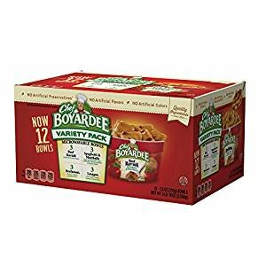 Chef Boyardee Mini Bites - Chef Boyardee Variety Microwave Cups, 12 ct./90 oz.