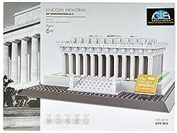 CIS-Associates 4216 Lincoln Memorial Building Blocks, Multicolor by Wange