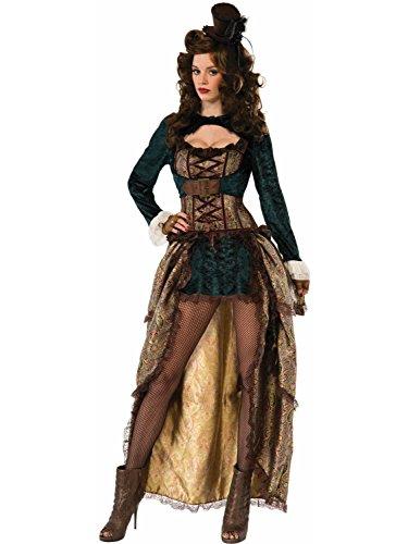 Forum Novelties Women's Madame Steampunk Costume, Multi, Standard