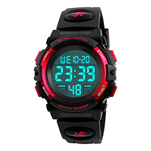 Kids Watch, Boys Sports Digital Waterproof Led Watches with Alarm Wrist Watches for Boy Girls Children Watch C