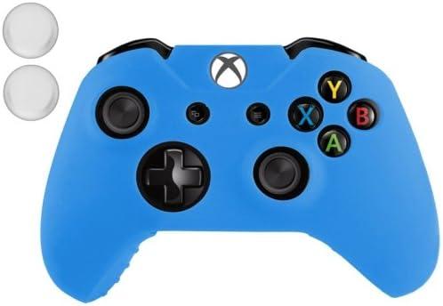 XBOX ONE – Carcasa Funda Silicona Azul + 2 mandos Protèges ...