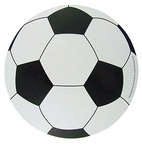 Sports Athlete Soccer Ball Magnet for School Locker, Car, or Refrigerator ()