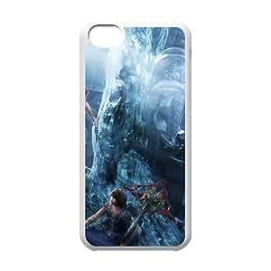 iphone5c phone case White Final Fantasy Type-0 KKD7820825