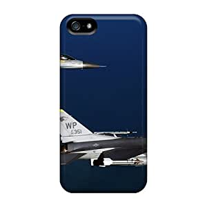 Ideal GARSHOP Case Cover For Iphone 5/5s(two F 16 Fighting Falcon Aircrafts), Protective Stylish Case