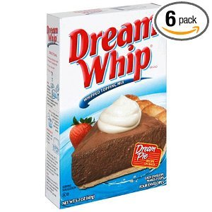 Dream Whip Topping 12 Per Case, 5.2 Ounce Each.