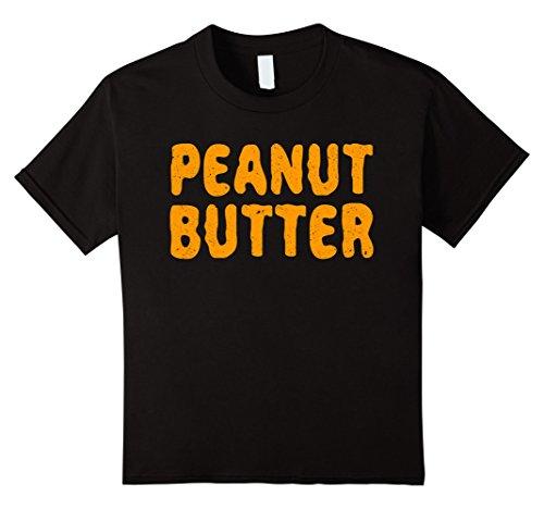 Kids Peanut Butter T-Shirt Matching Halloween Costume 4 (Father And Son Matching Halloween Costumes)