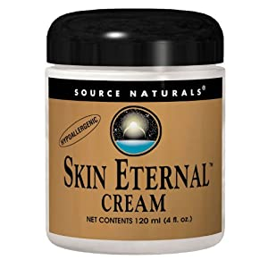 Source Naturals Skin Eternal Cream Moisturizing Skin Food With C Ester, DMEA, Lipoic Acid & More 4 oz