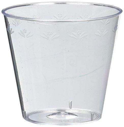 50 Count Plastic Shot Glass, 1 oz., Clear