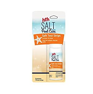 Hth 67005 Salt Pool Care Test Strips, 10 Count (Pack Of 12)