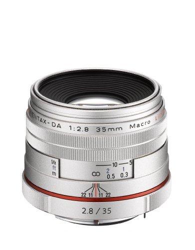 (Pentax SMCP-DA 35mm f/2.8 HD Macro Limited Lens - Silver, U.S.A. Warranty)