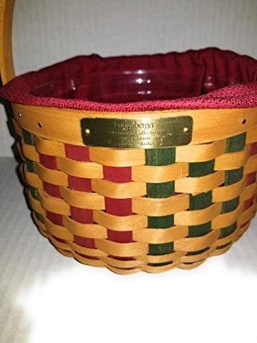 Longaberger Christmas Basket.Longaberger Christmas Baskets Collectibles