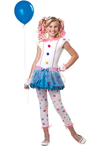 [California Costumes Dotsy Clown/Tween Costume, One Color, Large] (Candy Woman Costumes)