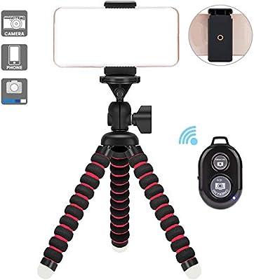 Mini TríPode Flexible/FlexiblestríPode/con Soporte para Smartphone ...