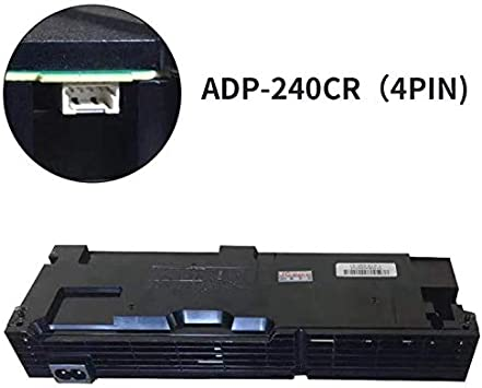 Power Supply 4 Pin Unit ADP-240CR Replacement for Sony PlayStation 4 PS4 CUH-1101A Series