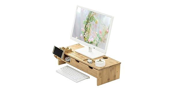 ... con Organizador de Almacenamiento Escritorio de la Computadora de Oficina, Adecuado para Computadora Portátil, iMac, Impresora: Amazon.es: Electrónica